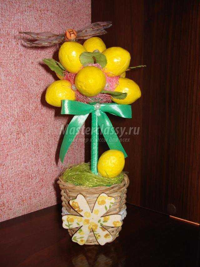 лимонное дерево счастья своими руками
