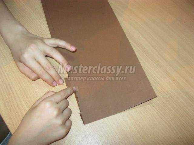 пасхальный кулич из картона и атласа