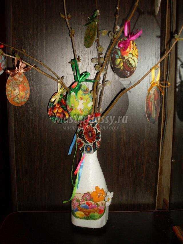пасхально-кулинарное дерево