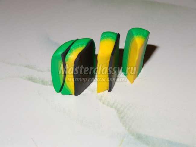 Детские бусы из полимерной глины