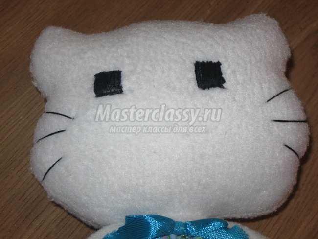 Пошив текстильной игрушки «Kitty»