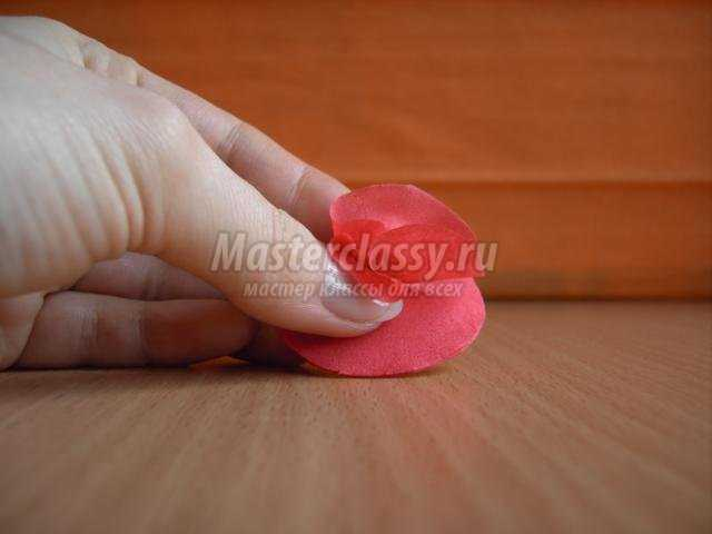 топиарий из салфеток своими руками. Любовь