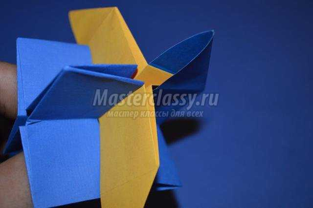 геометрическая кусудама. Omega Star