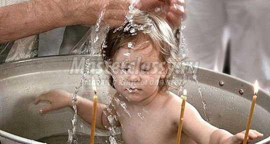 Что нужно знать о крещении ребёнка?