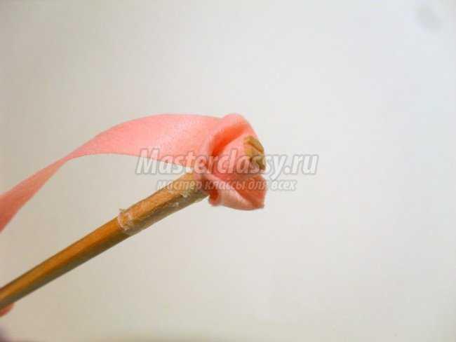 Повязка на голову c розами из фетра