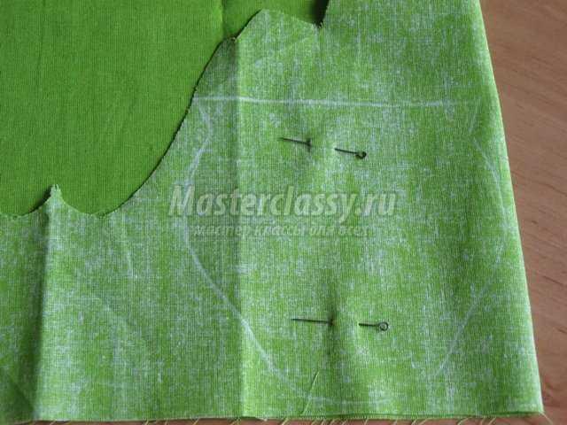 Текстильная игольница – яблоко