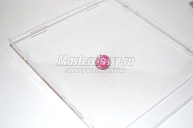 Комплект украшений Чечевички из полимерной глины