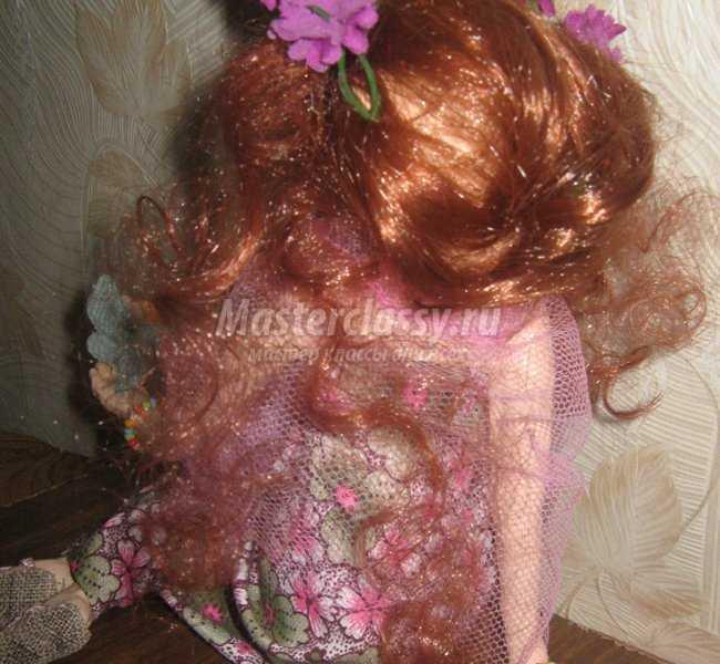авторская кукла фея лето
