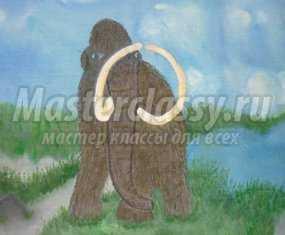 панно мамонт