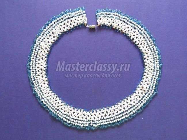 ожерелье хрусталь, ожерелье своими руками