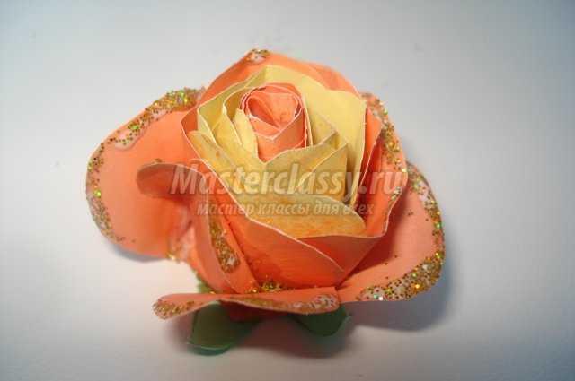 Скрапбукинг. Роза из бумаги