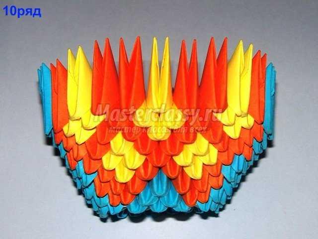 Оригами схемы матрешки