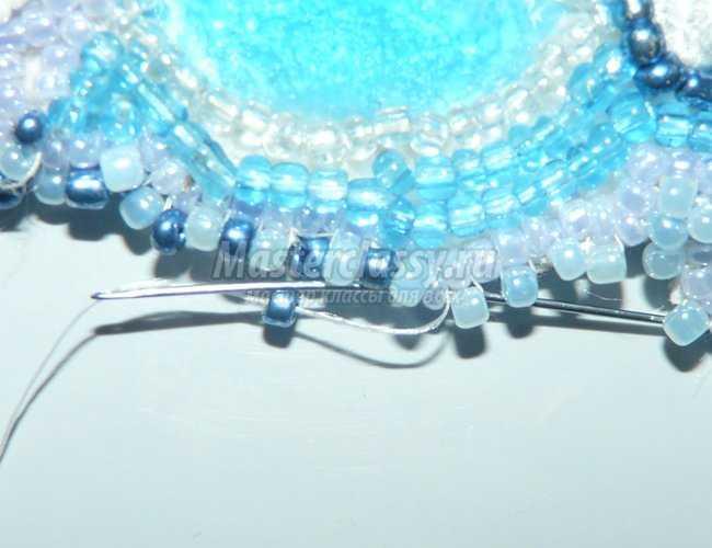 ожерелье из бисера анастасия мастер-класс