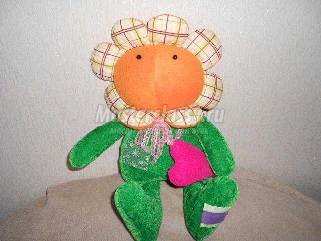Цветок игрушка сделать своими руками фото 484