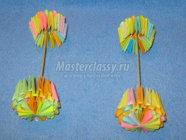 оригами. Карета для Золушки