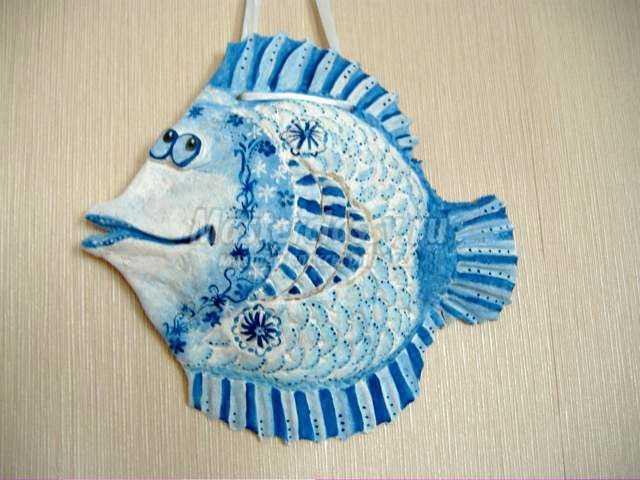 Рыбки из теста своими руками фото 329