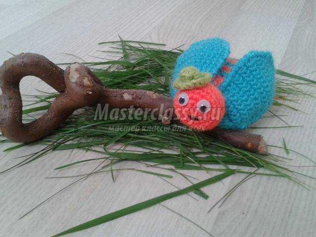 игрушки амигуруми. Майский жук