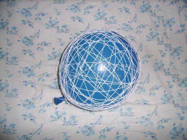 шар из ниток своими руками