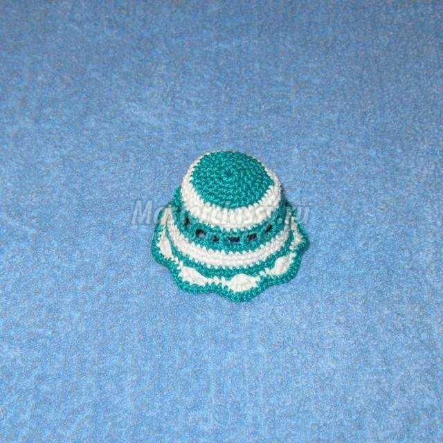 вязание крючком чехла для пасхального яйца
