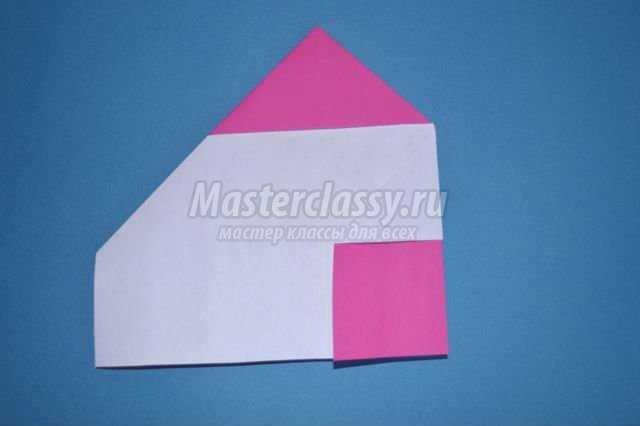 сердце из бумаги в технике оригами