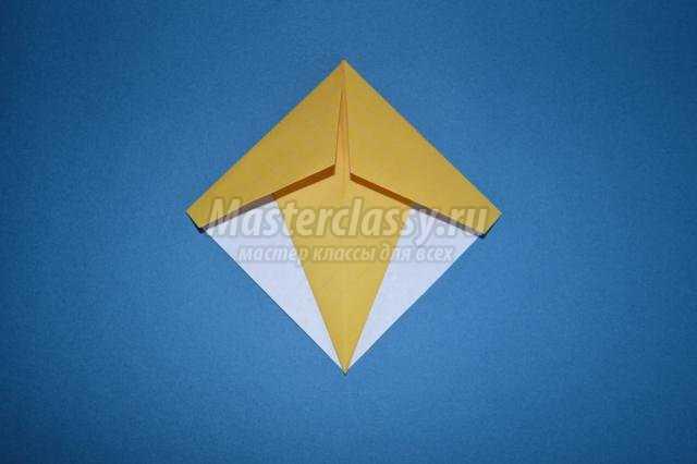оригами для детей. Уточка. Мастер-класс
