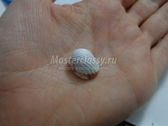 Комплект из полимерной глины Морской