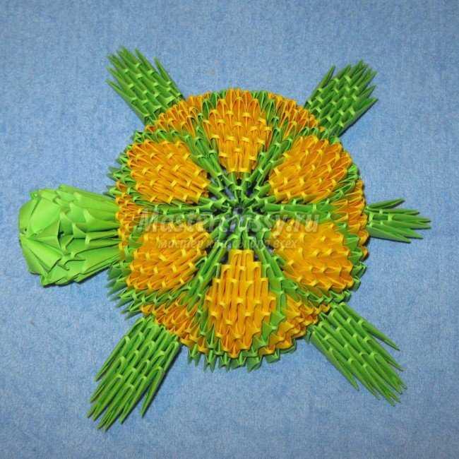 Черепаха. Модульное оригами