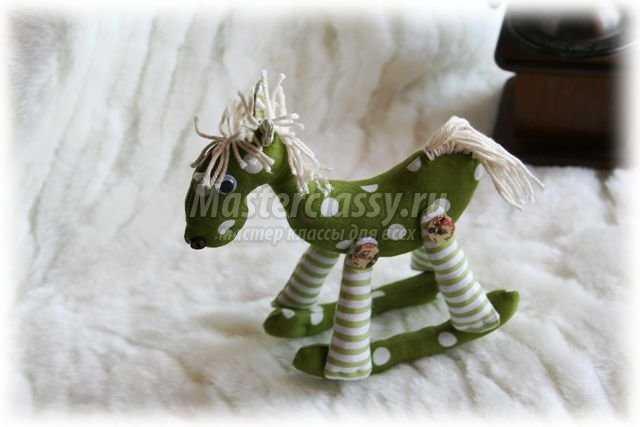 Лошадка на качалке своими руками