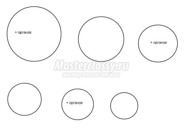 шаблоны кругов разного диаметра скачать