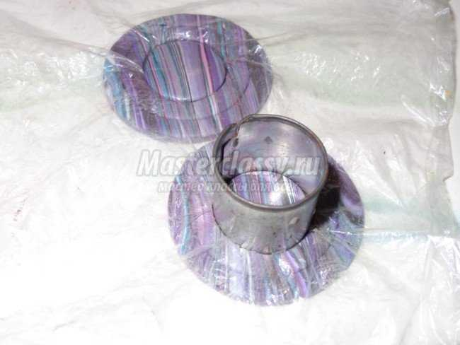 серьги из полимерной глины фото