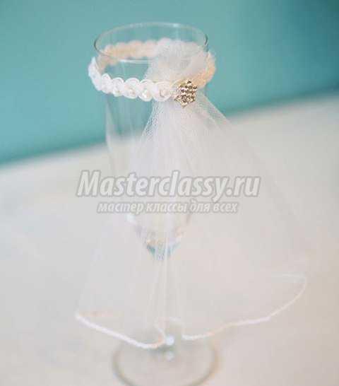 Свадебные бокалы для жениха и невесты