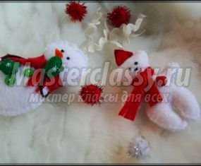 1379107325_0-055 Снеговик своими руками на Новый год из подручных материалов