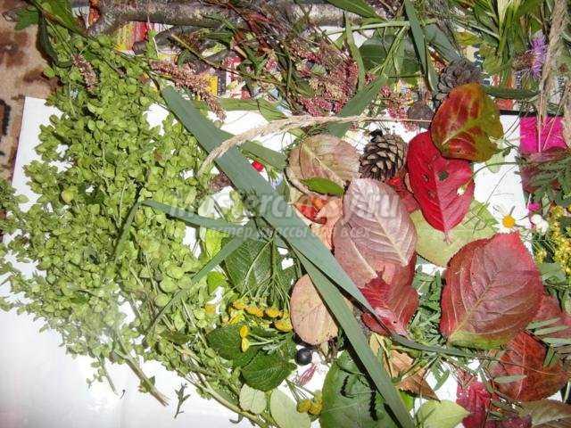 72 Поделки из ягод рябины
