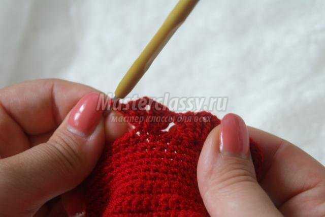 вязание крючком. Рукавички для девочки