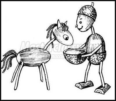 Своими руками лошадь из пластилина фото 170