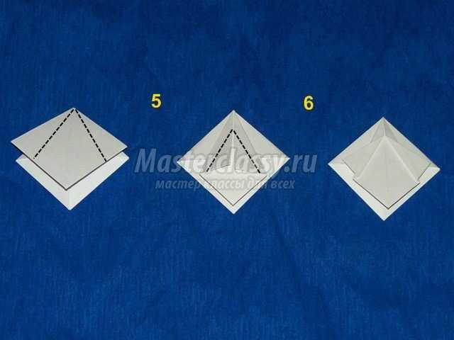 Объемная снежинка Оригами