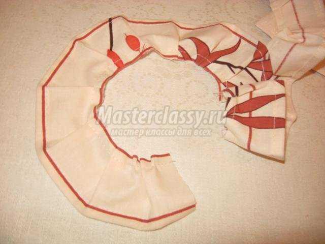 сшитые из ткани прихватки для мамы