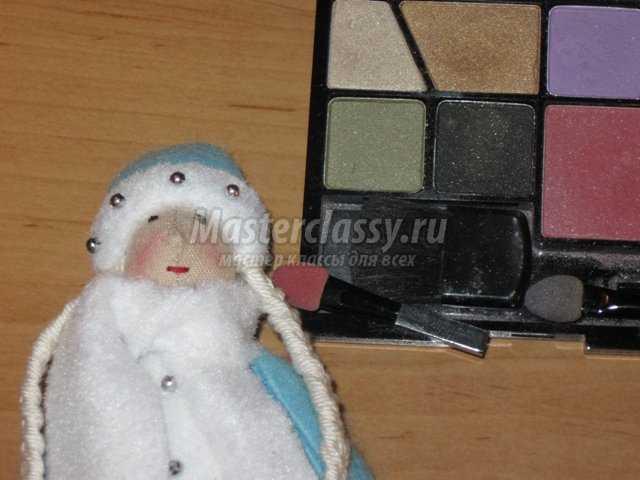 Тильда-Снегурочка своими руками