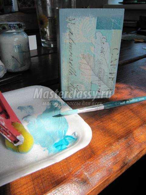 Декупаж карандашницы