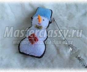 1380919165_0-067 Снеговик своими руками на Новый год из подручных материалов