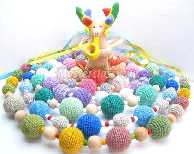 игрушки для 4 месячного ребенка своими руками