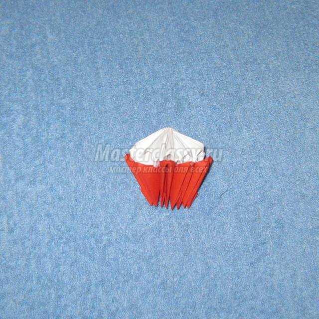 модульное оригами. Экскаватор