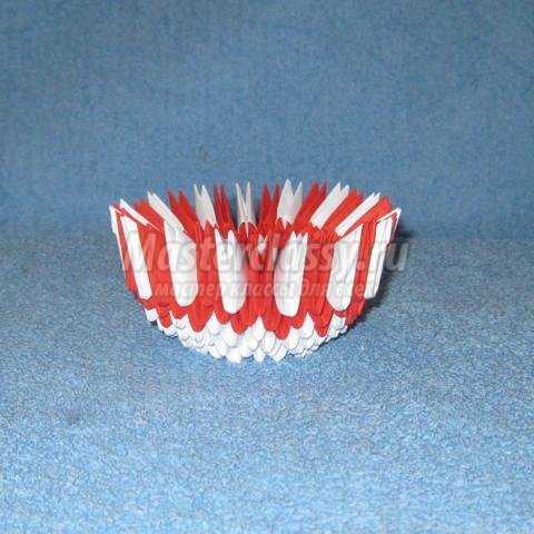 Модульное оригами. Пасхальное яйцо с цыпленком