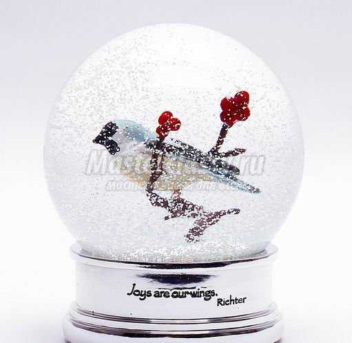 Делаем снежный шар