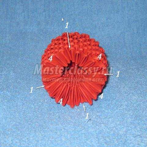 Модульное оригами Осьминог
