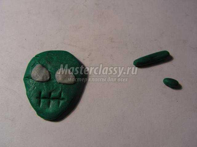 брелочки из полимерной глины к Хэллоуину