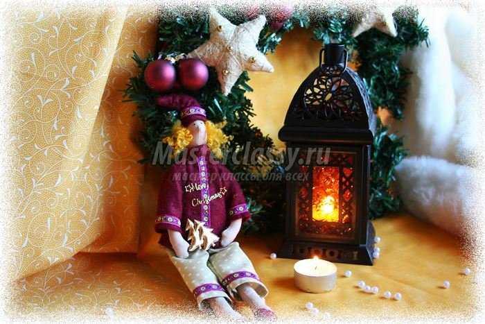 Тильда Рождественский гном