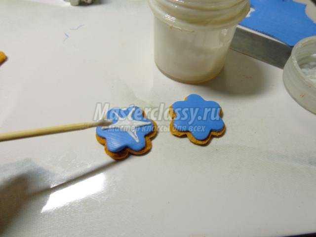 новогодняя шкатулка из полимерной глины