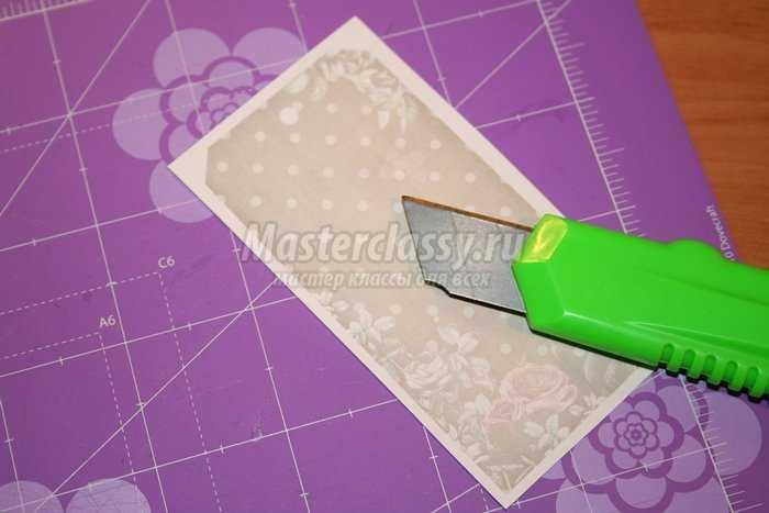Блокнот «Винтаж» в технике скрапбукинг
