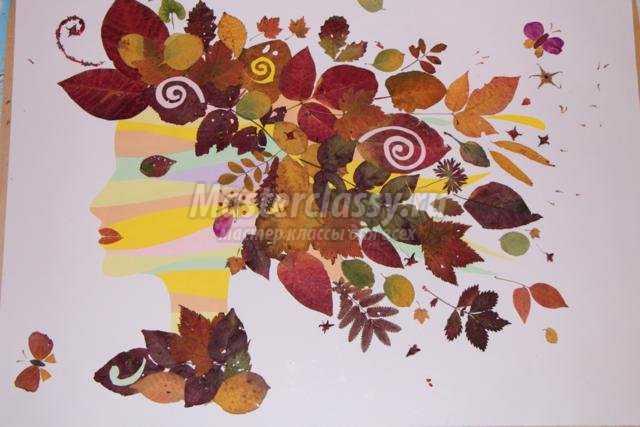 Фото букет красивых осенних цветов 6